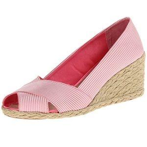 New Lauren Ralph Lauren Cecelia pink espadrille
